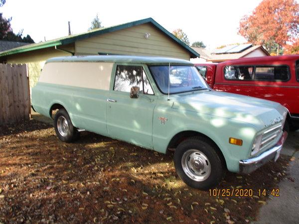 1967 Chevrolet C10 Panel  for Sale $12,000
