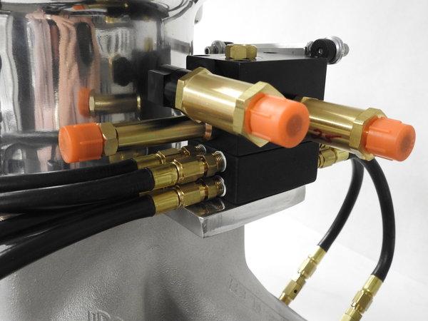 Pro-Filer BB Chevy  Single Plane  Rec Port Complete Setup   for Sale $2,849