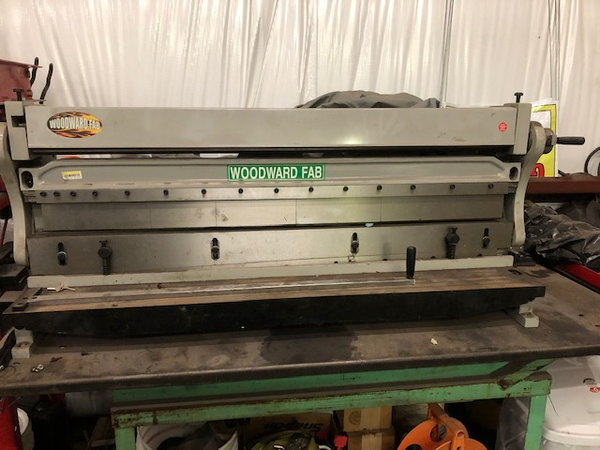 """52"""" Bender, Roller and Shear   for Sale $2,200"""