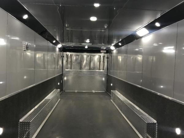 32' HAULMARK RACE TRAILER WITH NEW UPGRADED CABS Extra ht IN  for Sale $25,500