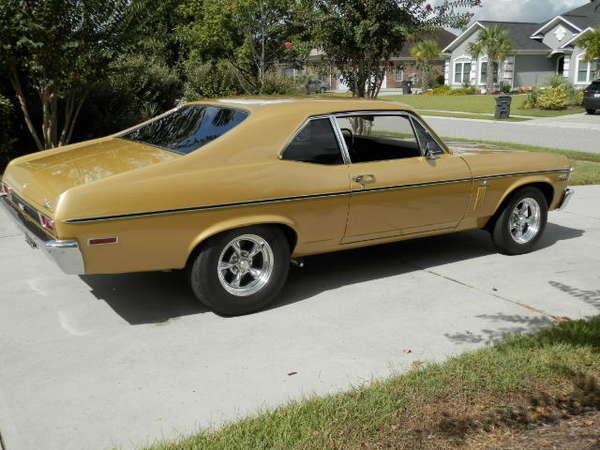 1970 Chevrolet Nova  for Sale $40,500