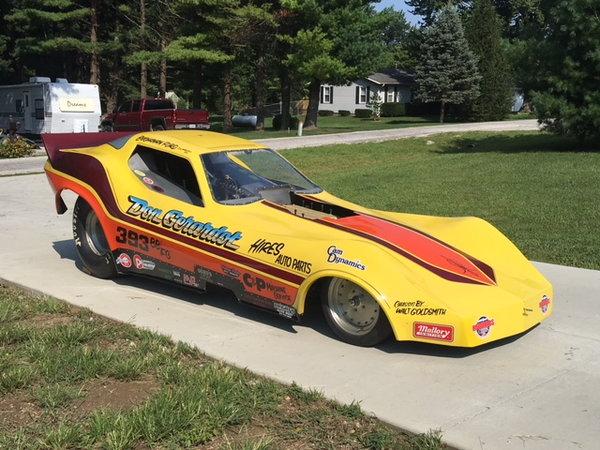 Real Nostalgia Corvette Price Drop