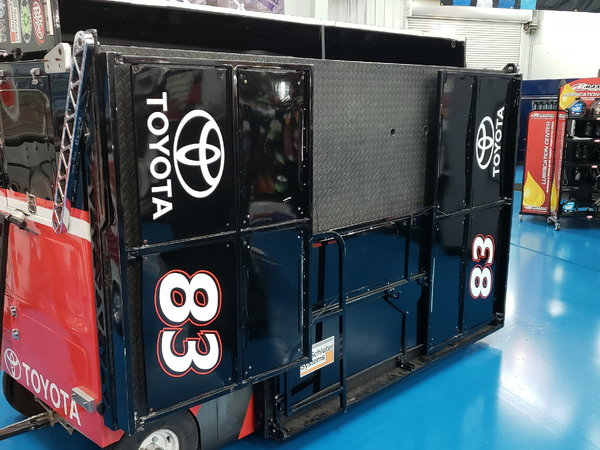 NASCAR Style Pit Box  for Sale $60,000