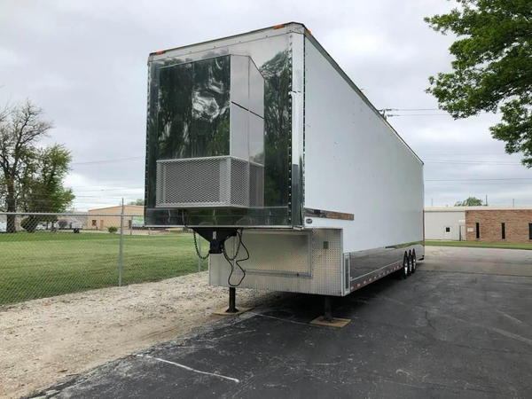 2002 40ft Renegade 3 Car Stacker - Lift Gate Updates and Ext  for Sale $75,000