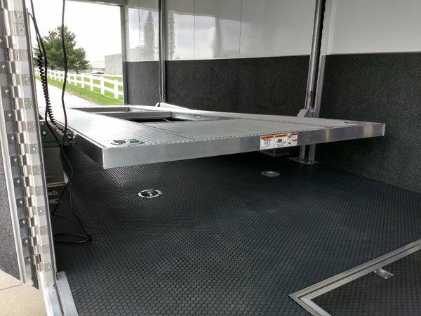 38' SHOWHAULER & 30'  ATC TILT LIFT STACKER
