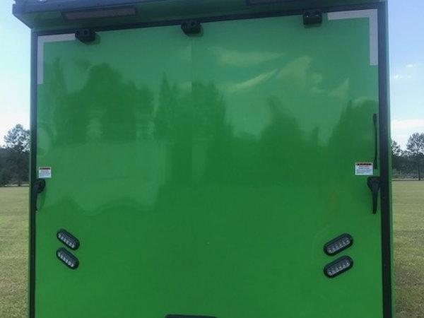 2020 34' Artic Cat Green Spread Tri-Axle Car Hauler