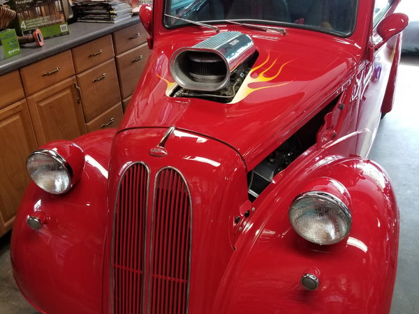 1951 Anglia all steel street rod  for Sale $40,000
