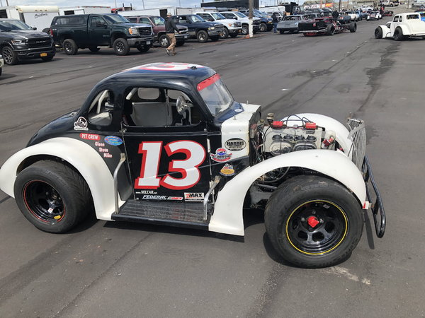 37' FORD  -LEGENDS coupe race car   for Sale $5,950