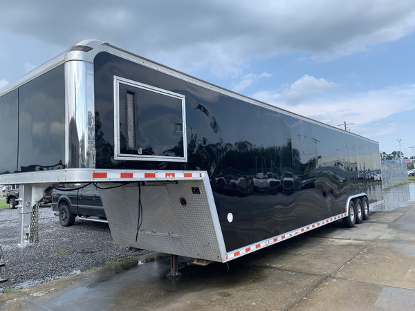 2006 Pace 44ft enclosed race trailer with awning for Sale ...