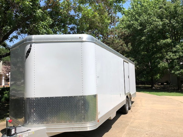 2011 Featherlite 4926 perfectfit car trailer-24ft/8.5ft  for Sale $18,250