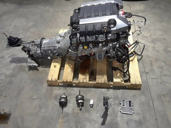 2014 Camaro SS 1LE LS3 Complete Engine 6 Speed  for Sale $6,500