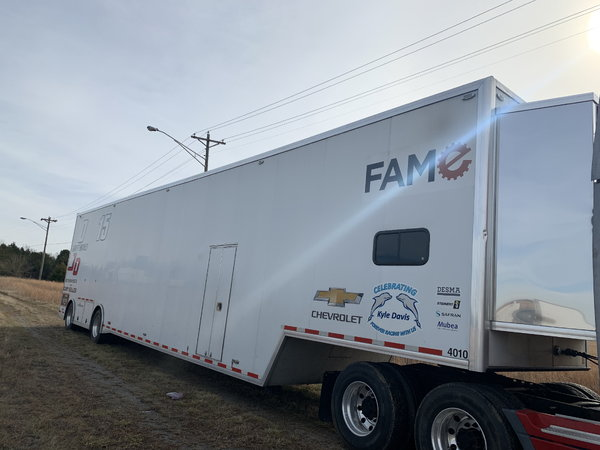 2014 53 FT RACE TRAILER  for Sale $98,500