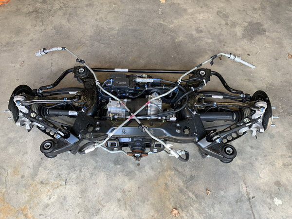 2018 Camaro ZL1 rear end, differential, cradle, axles, etc.  for Sale $2,250