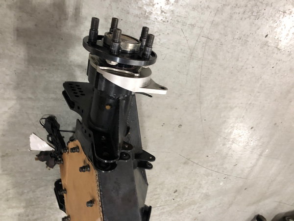 RJ Thirdmember housing with 2-piece Strange axles.  5x4.75&q  for Sale $2,499