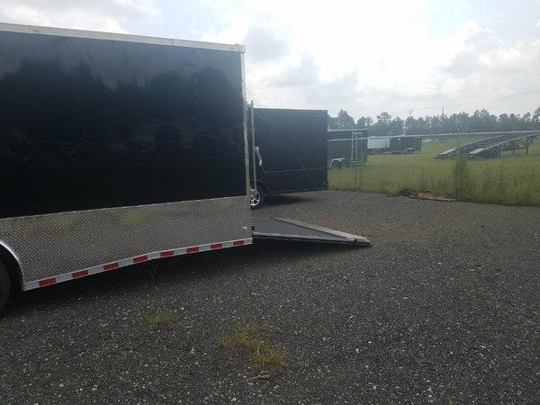 8.5x36 Triple Axle Racing Trailer  for Sale $23,914