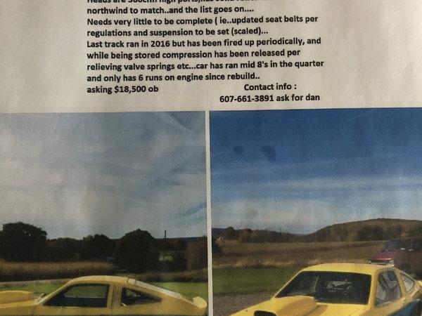 1980 sunbird  for Sale $11,000