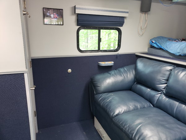 Custom hauler with sleeping quarters   for Sale $32,000