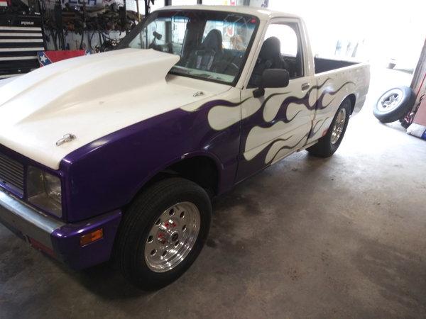 1986 Isuzu Drag Truck
