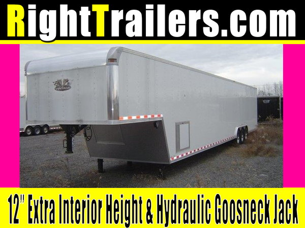 IN STOCK - 48' Vintage W/ Triple Axles, 1ft Extra Heig
