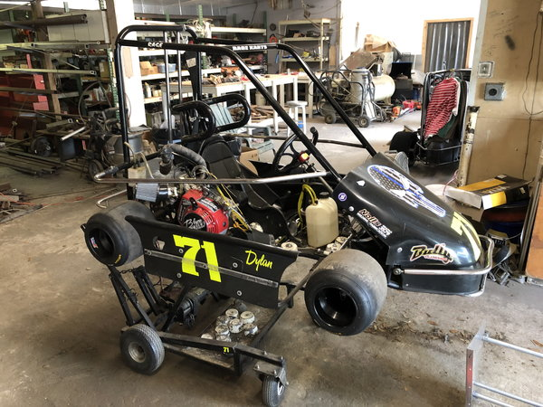 2013 Rage Champ Kart Race Ready with Spare Motor and Parts  for Sale $2,500