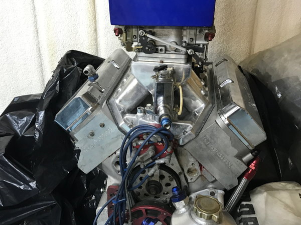 Big Block Chevy Racing Engine - 635 c.i. - 1220 HP - Aluminu  for Sale $26,500