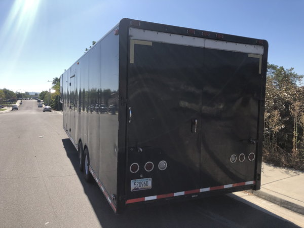 Competition gooseneck trailer loaded  for Sale $20,000
