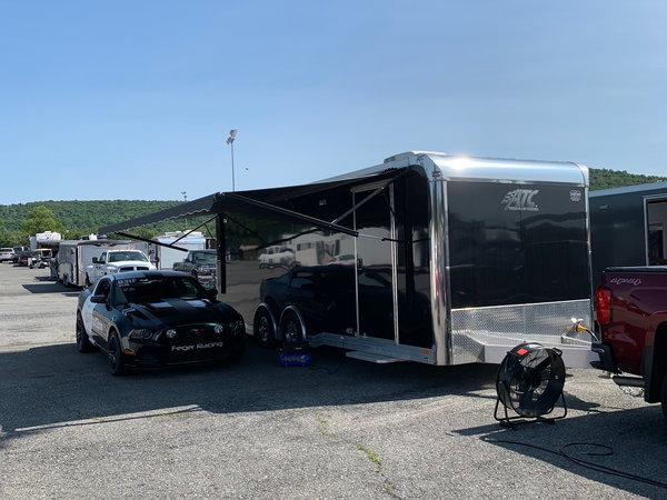 2018 ATC 8.5 x 24 CH405 w/ AC and Elec. Awning  for Sale $27,500