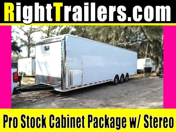2021 Pro Stock Elite 34' Trailer - Dragster Lift - Loaded OU