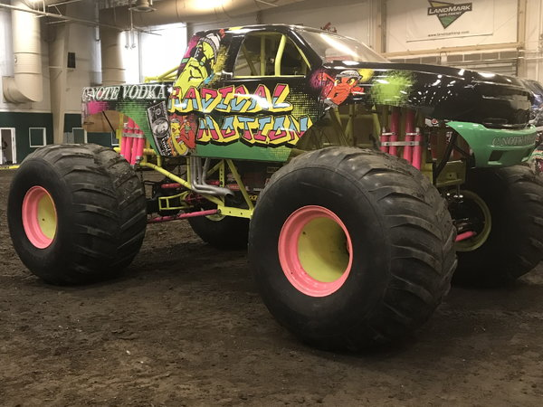 Radical Motion monster truck   for Sale $70,000