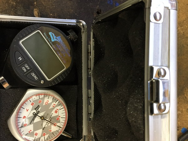 Durometer & Depth gauge   for Sale $100
