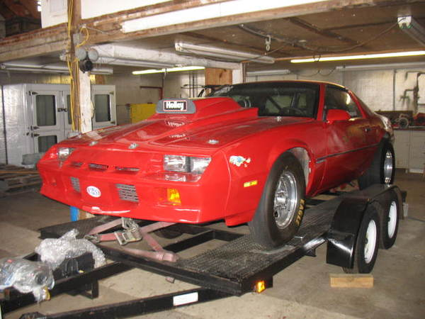 84 Camaro Bracket Car  for Sale $16,500