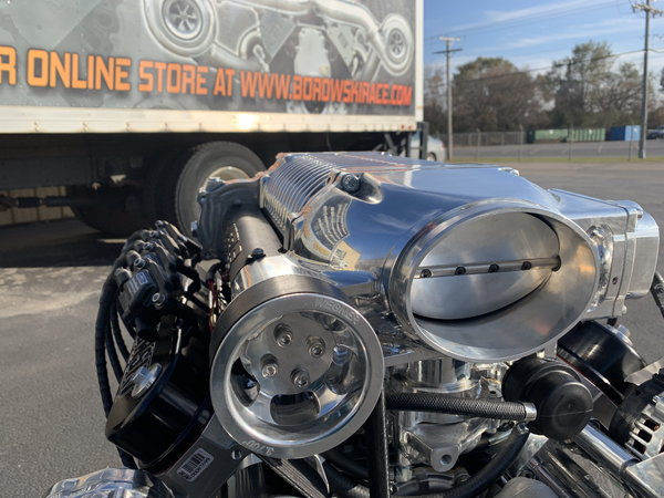 Front Feed 4.5L Whipple - 427ci LS Engine  for Sale $40,900