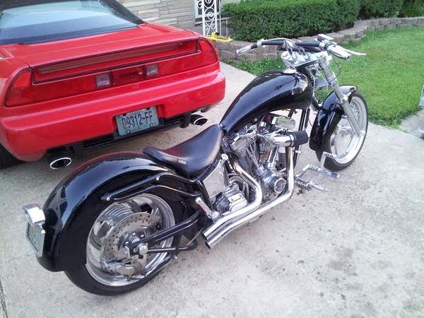 2009 Custom WideTires w/ built Buell Stroker