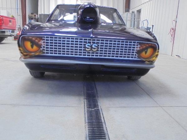 1967 Camaro super gas bracket racing  for Sale $40,000