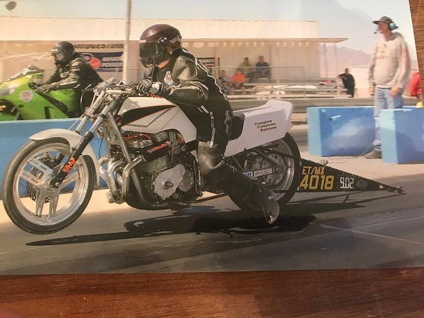 SUZUKI 1425 GS DRAG BIKE  for Sale $4,000