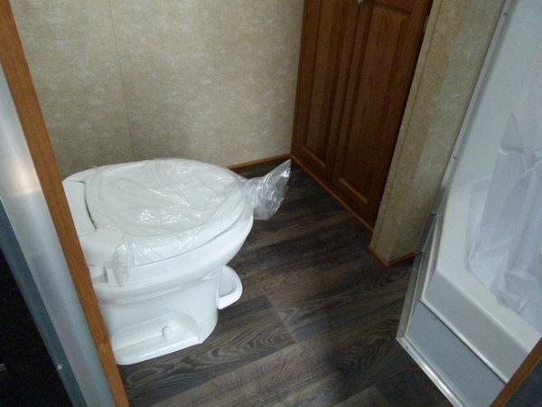 2022 34' CARGO MATE ELIMINATOR LOADED BATHROOM TRAILER