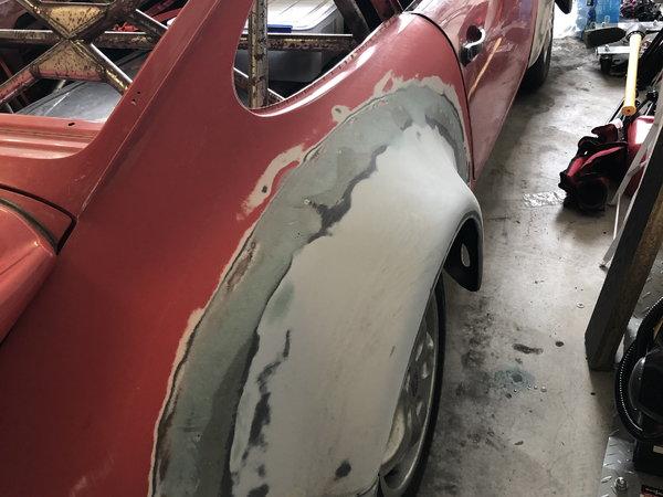 Porsche 911 / 934 clone project ROLLER NO DRIVETRAIN
