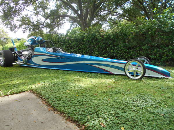 2014 MULLIS 4 LINK DRAGSTER ROLLING CHASSIS  for Sale $24,000