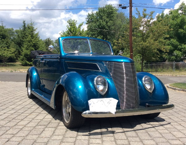 1937 FORD 4DOOR CONVERTABLE- RARE  for Sale $47,000