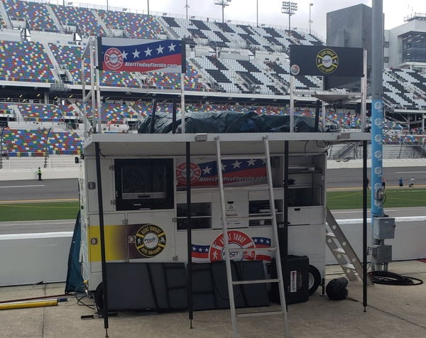 Large Nitro Mfg Oval Racing Pit Box  for Sale $16,250