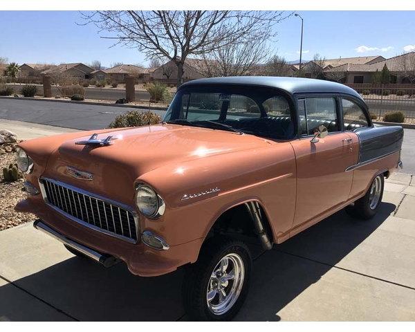 1955 Chevrolet 150 2 door post Gasser