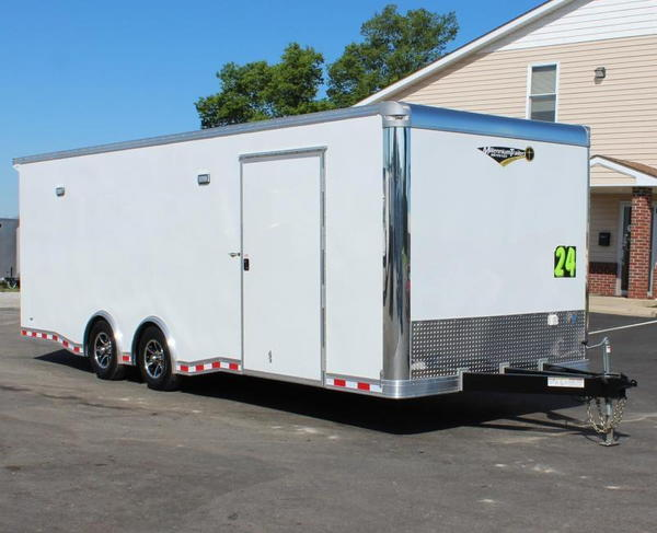 *READY 9/3* Easy Exit Trailer 24' Extreme w/Blk Cabs