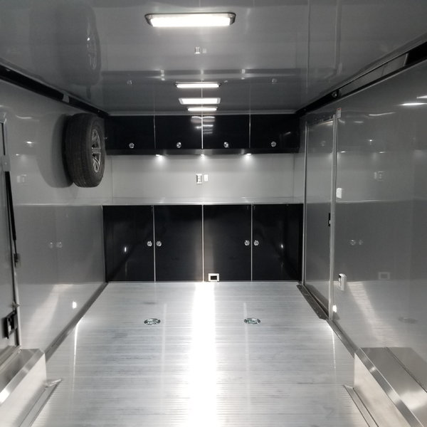 NEW 2020 ATC QUEST X 8.5' x 24' DELUXE ENCLOSED TRAILER