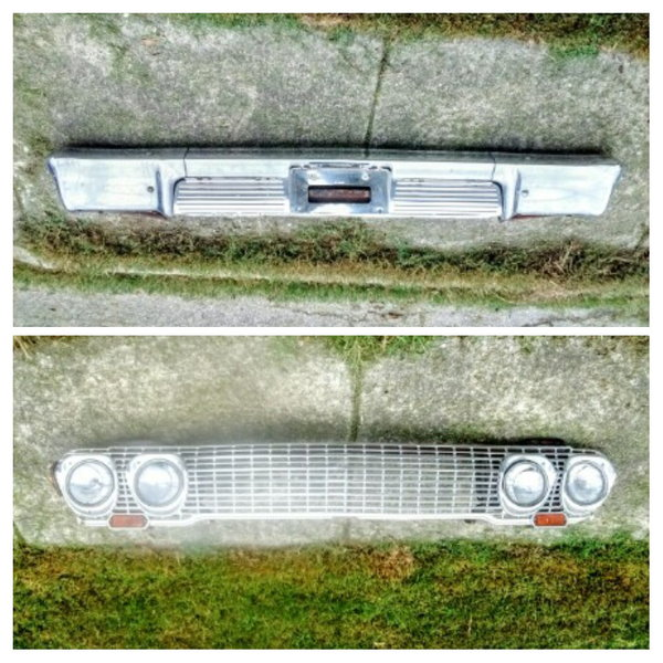 1963 Chevrolet Impala bumper and grill  for Sale $600