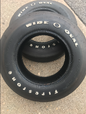 F 70 x 15 Firestone Oval O Tires  for sale $600