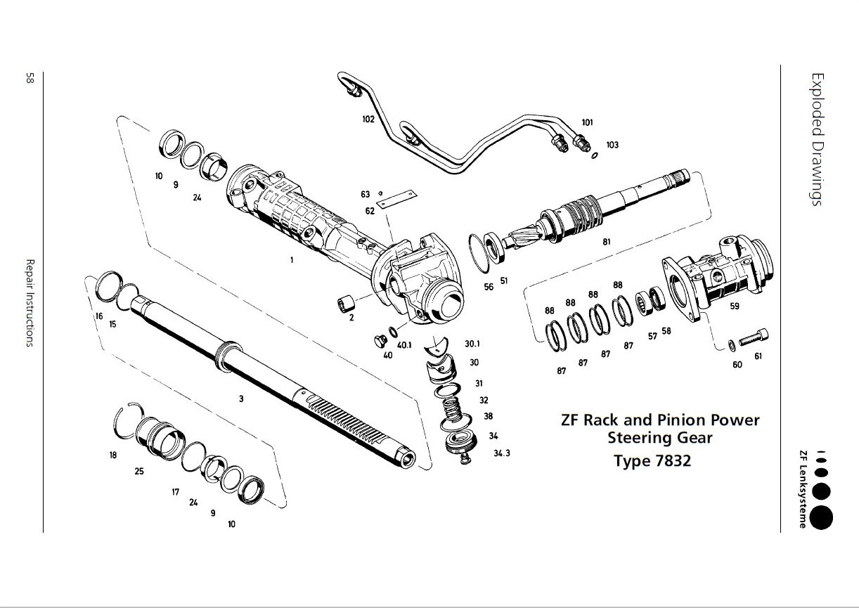 993 steering rack repair document - rennlist