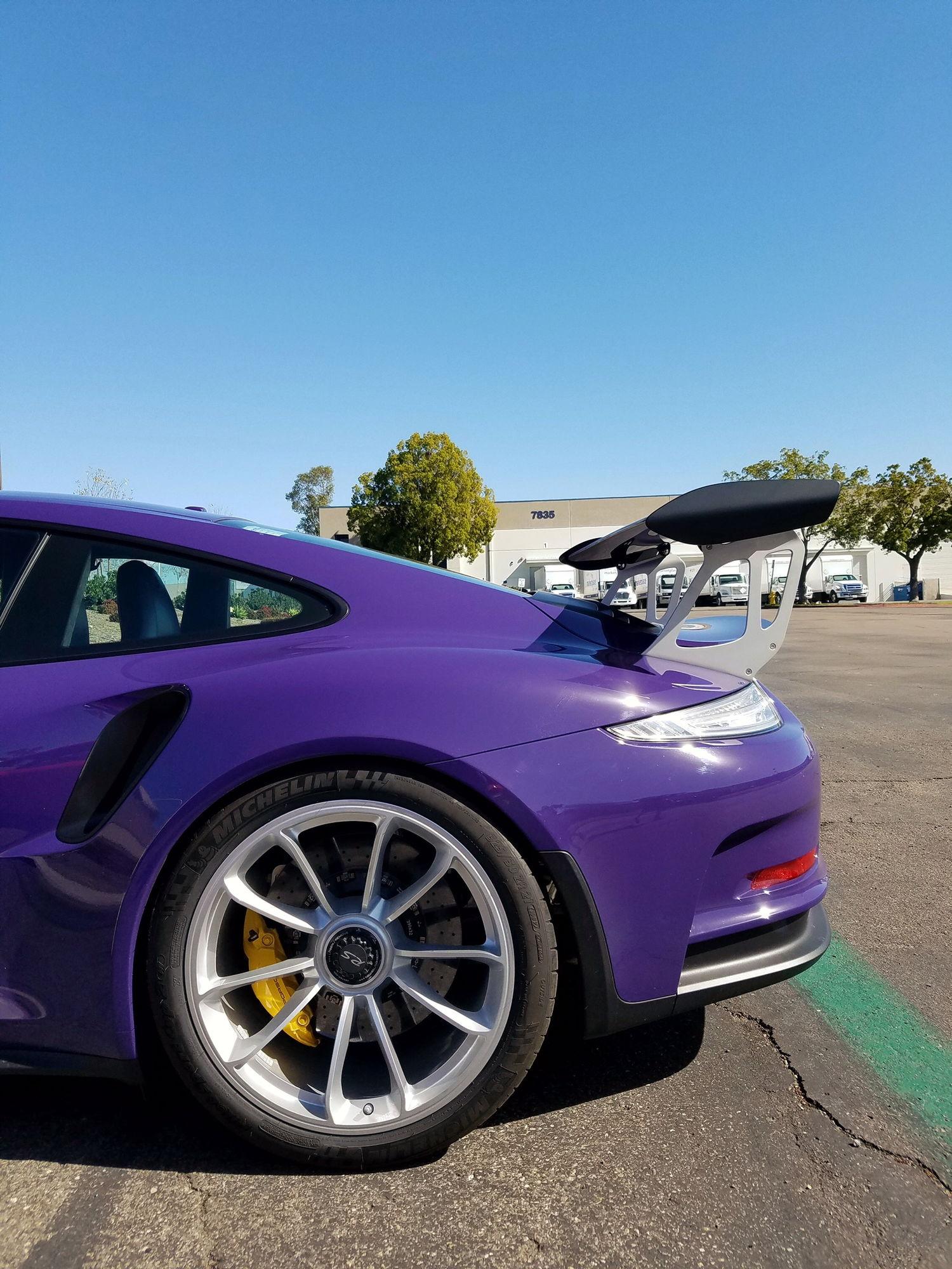 2016 Porsche 911 991 Gt3 Rs Ultraviolet Only 140 Miles Page 2 6speedonline Porsche