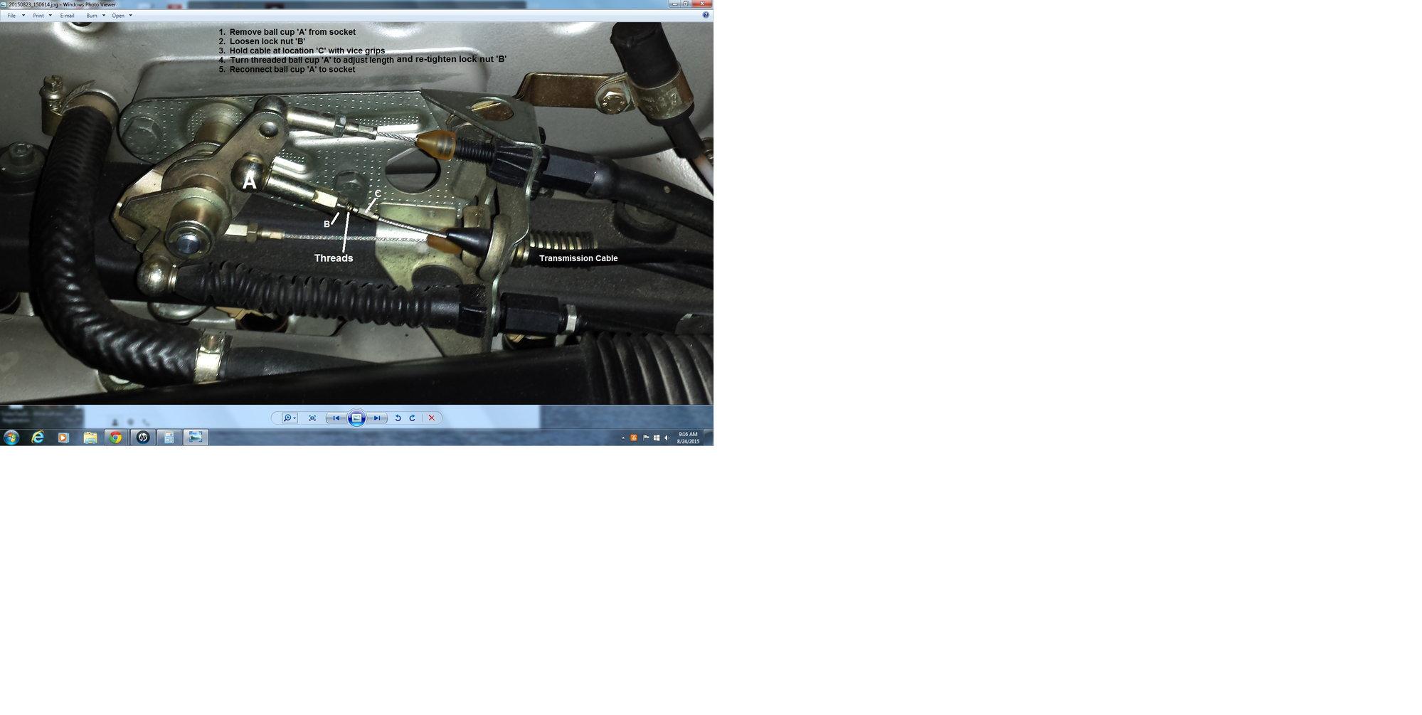 Cable adjustments - Rennlist - Porsche Discussion Forums