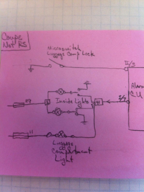 Door Contacts Wiring  U0026 Sentrol 1078c Series Recessed Steel