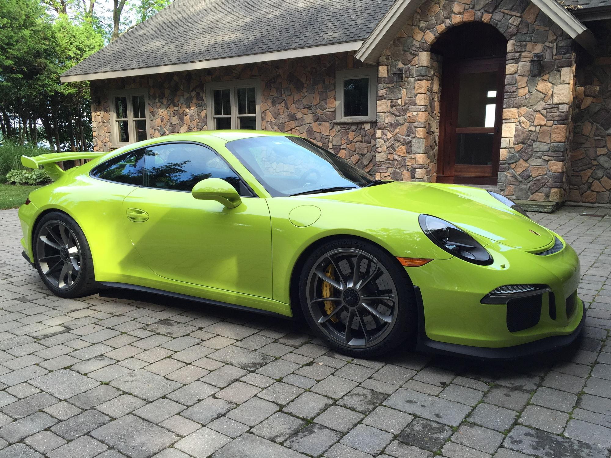 2015 Gt3 Birch Green Lwb Pccb Lift Rennlist Porsche
